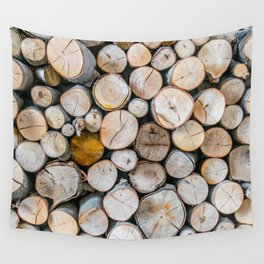 Logged Wall Tapestry