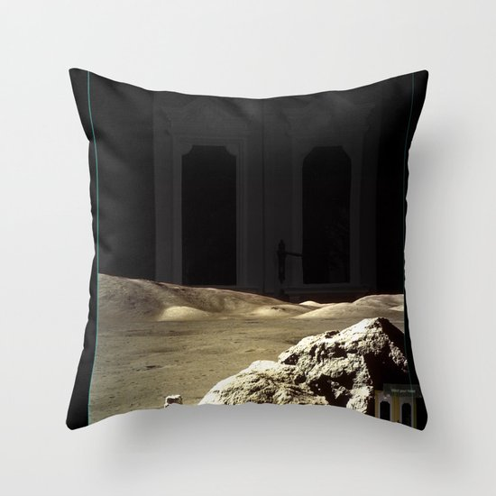 Space is deep Throw Pillow
