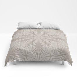 Silver Drapery Comforters