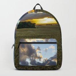 Golden Skies. Backpack