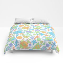 Tropical Fish Pattern Comforters