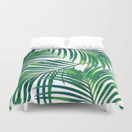 Palm Paradise #society6 #decor #buyart Duvet Cover
