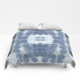 Sea Shell Disco Powder Blue Comforters