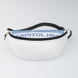 Funny Seattle snowmageddon apparel and merchandise for men, women and kids. Fanny Pack