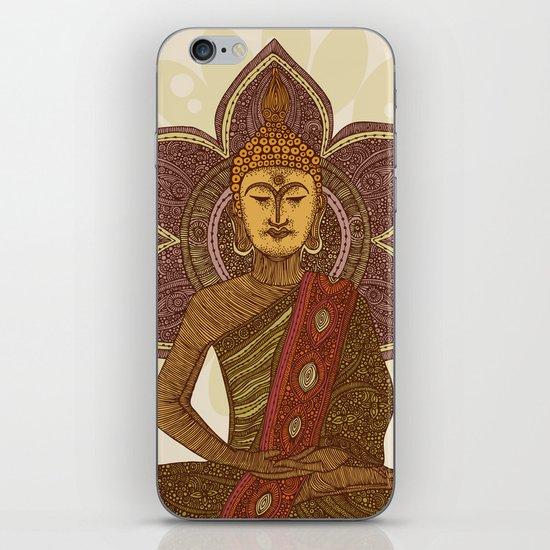 Sitting Buddha iPhone & iPod Skin