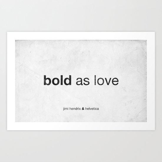 Bold Art Print