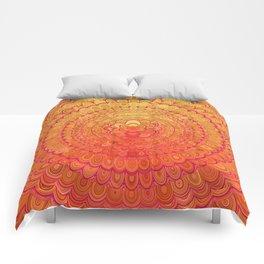 Aztec Flower Mandala Comforters