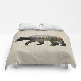 The North American Black Bear Comforters