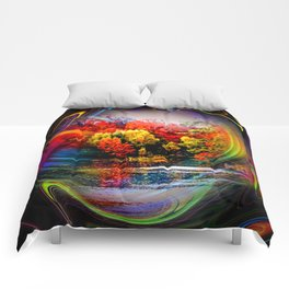 Abstract Perfection 42 Autumn Comforters