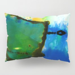 Abstract Bliss 4I by Kathy Morton Stanion Pillow Sham