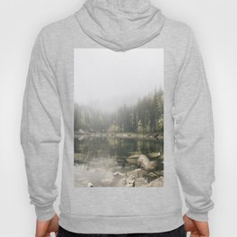 Pale lake - landscape photography Hoody