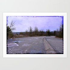 Life was a Highway Art Print