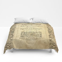 Shakespeare. A midsummer night's dream, 1600 Comforters