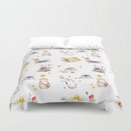 Lazy Hamster Duvet Cover