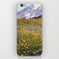 Rainier Flowers iPhone & iPod Skin