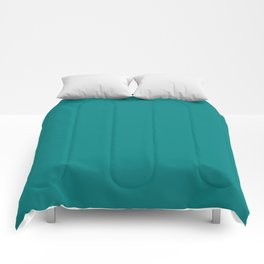 Basic Colors Series - Teal Comforters