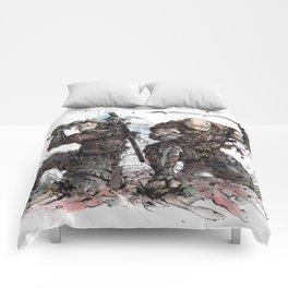 Samurai Duo - Samurai Witchers! Comforters