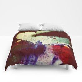 Fear of Butterflies Comforters
