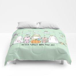 Happy Halloween Ghost Comforters