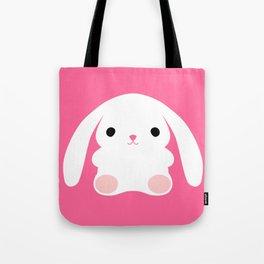 Mei the Strawberry Rabbit Tote Bag