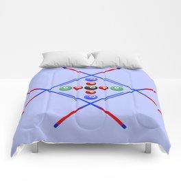 Pool Game Design v3 Comforters
