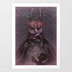 Sweet, Sugary Wickedness Art Print