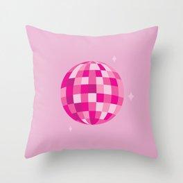Disco Dreams Throw Pillow