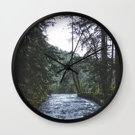 The Edge Wall Clock
