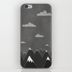 Chalkboard Winter iPhone & iPod Skin