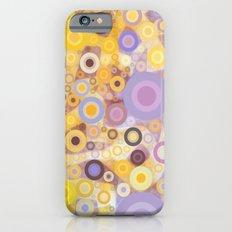 Purple Yellow Washing Machine Cycle Slim Case iPhone 6s