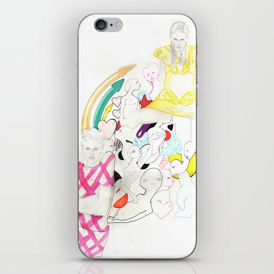 Whe love Fashion 3 iPhone & iPod Skin