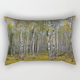 Trembling Aspen's in the Fall, Jasper National Park Rectangular Pillow