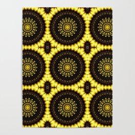 Sunflower Manipulation Grid 2 Poster