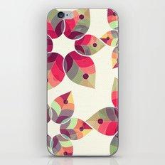 Autumn Flowers Pattern iPhone & iPod Skin