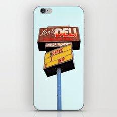 Sandwich shop sign iPhone & iPod Skin