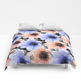 At Peace in My Garden: Floral Pattern Comforters
