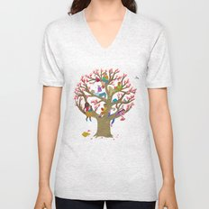 Tree Readers Unisex V-Neck