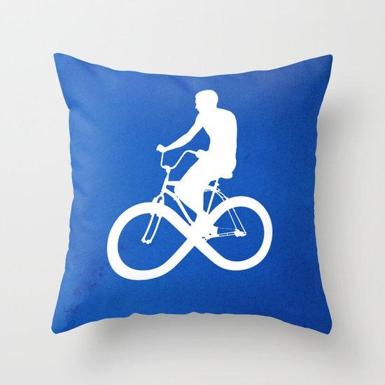 Endless Cycle Throw Pillow