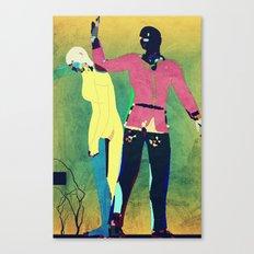 Banishment From Eden Canvas Print