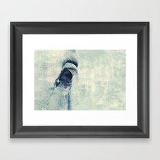 Graphic Eye horse Framed Art Print