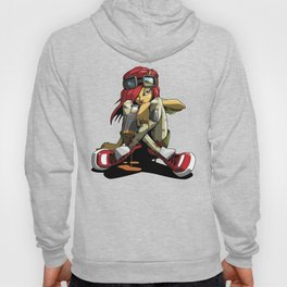 Graffiti girl Hoody