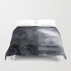 rain abstract Duvet Cover