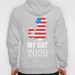 My Cat 2020 - Vote for My Cat Election Politics Hoody