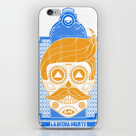 LA BUENA SUERTE II iPhone & iPod Skin