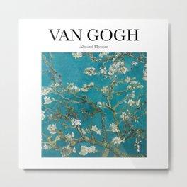 Van Gogh - Almond Blossom Metal Print