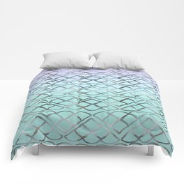 MERMAID Glitter Scales Dream #4 #shiny #decor #art #society6 Comforters