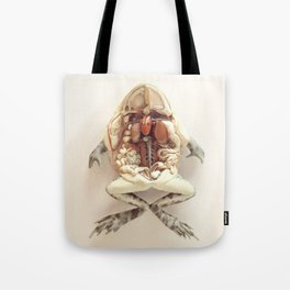 The Anatomical Frog Tote Bag
