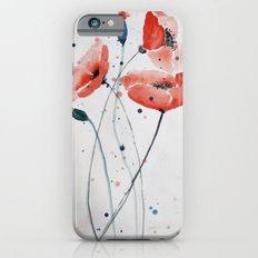 Poppies no 2 iPhone 6s Slim Case