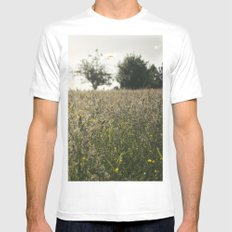 paisaje Mens Fitted Tee White MEDIUM