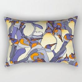 Penguin Party Rectangular Pillow